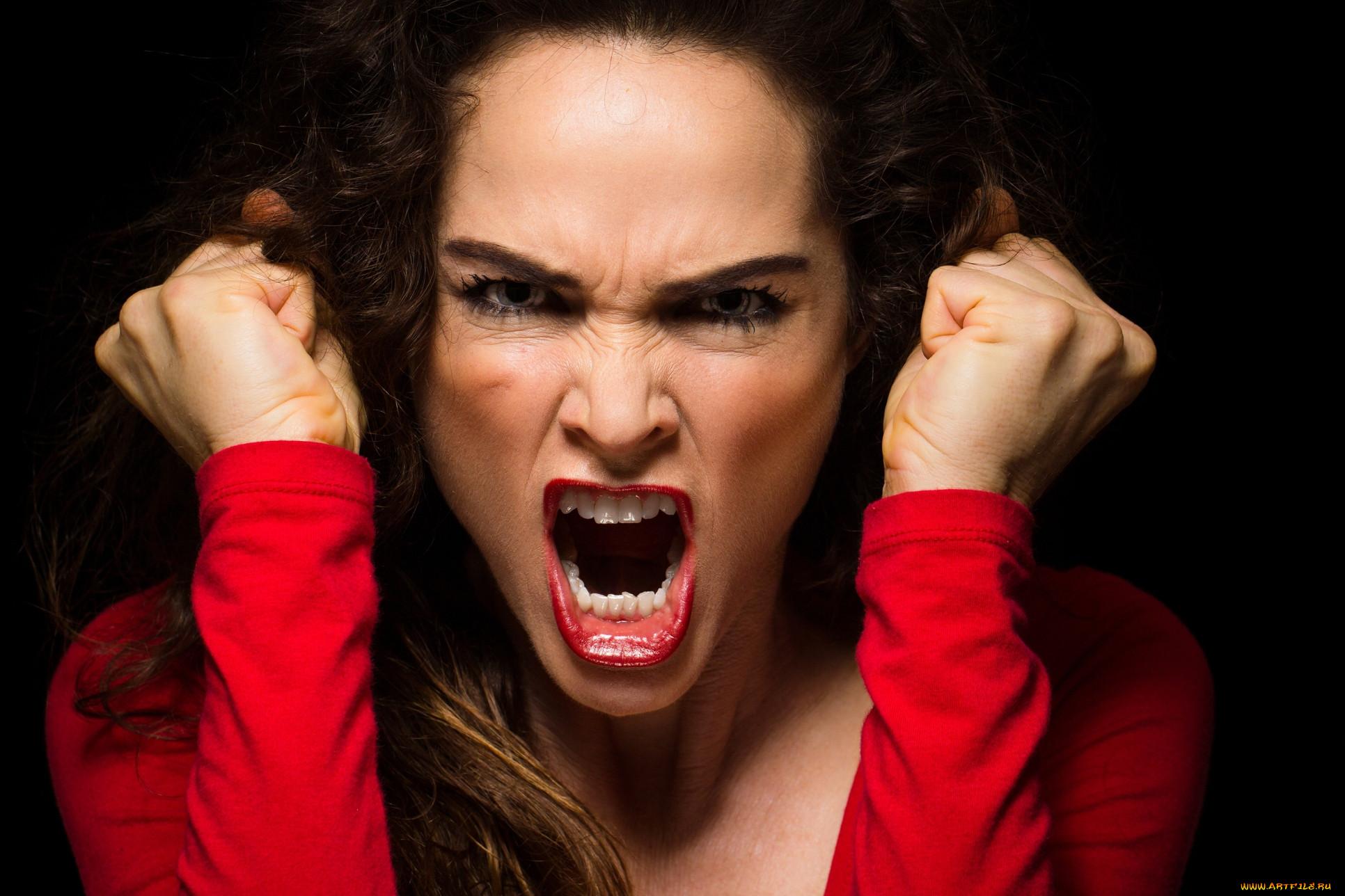 Чувство гнева в картинках